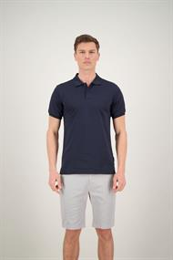 AIRFORCE HRM0655 Polo Double Stripe Dark Navy Blue