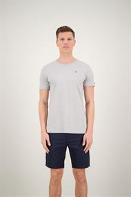 AIRFORCE TBM0741 Basic Outline T-Shirt Poloma Grey