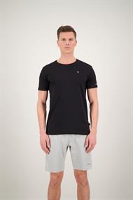 AIRFORCE TBM0741 Basic Outline T-Shirt True Black