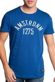 AMSTERDENIM AMS 1275 T-Shirt Rauw Blauw