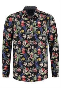 AMSTERDENIM Carolus Shirt L/S Multicolor