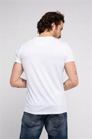 AMSTERDENIM Free Bird T-Shirt White