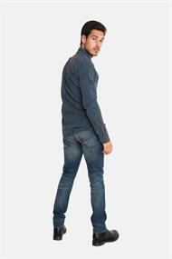 AMSTERDENIM PIM Shirt Blue Stripes