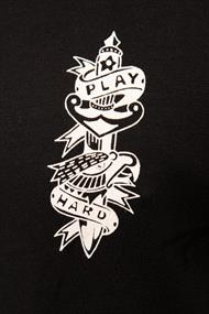 AMSTERDENIM Play Hard T-Shirt Black