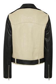 GESTUZ Maeva/leather jckt