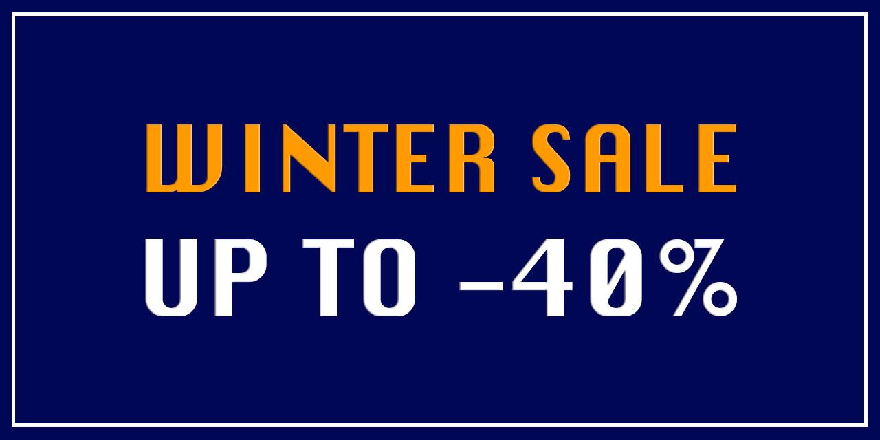 Homepage Banner Groot W19 SALE 40%