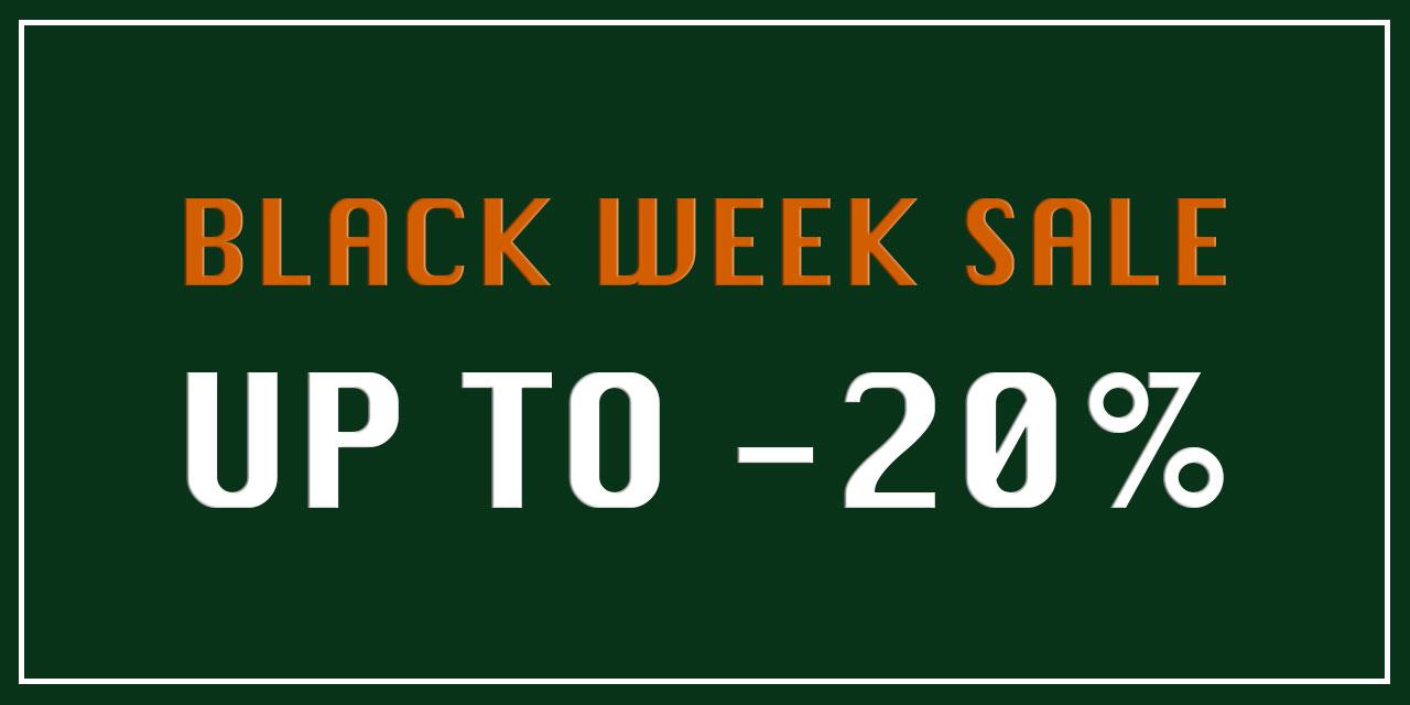 Homepage Banner Groot W20 BLACK WEEK SALE