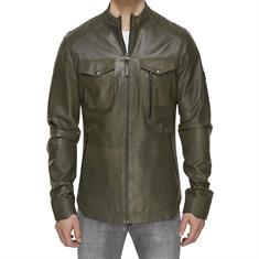 KOLL3KT Craft leather jacket