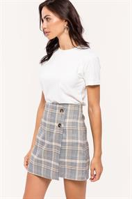 LOAVIES High on check skirt