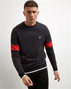 LYLE & SCOTT Ml1107 tipped sweat