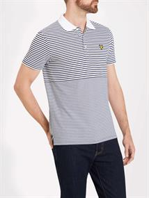 LYLE & SCOTT Sp809 polo stripe