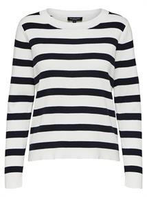 SELECTED FEMME Alina stripe ls knit