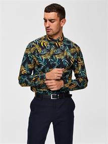 SELECTED HOMME Slimsel-winston shirt ls aop