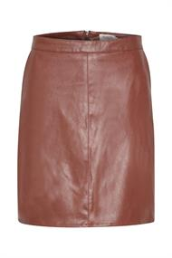 SOAKED IN LUXURY Tamara pu skirt