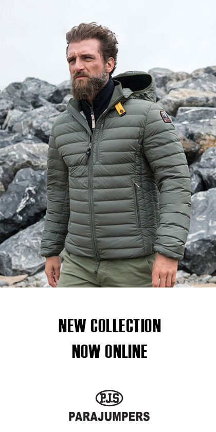 Staande banner new collection Parajumpers