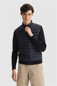 WOOLRICH Knit fz track jacket