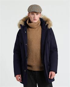 WOOLRICH Laminated cotton parka hc