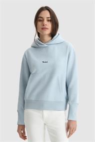 WOOLRICH Logofl.hoodie